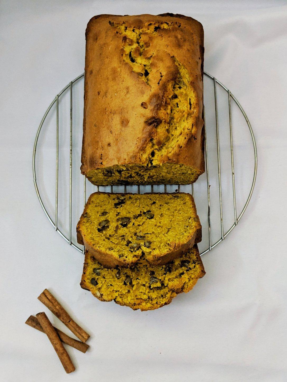 Pumpkin Pecan Pound Cake