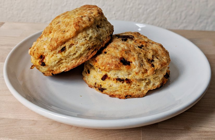 Asiago Sun Dried Tomato Biscuits