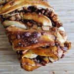 apple cinnamon maple babka